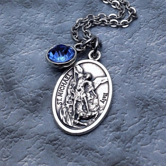 Charisma Bijou Jewelry - Saint Michael Necklace